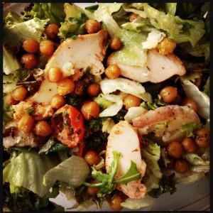 160521 salade met kikkererwten