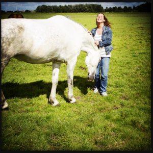 160714 ik met paard