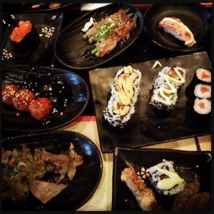 160728 eten bij Sumo