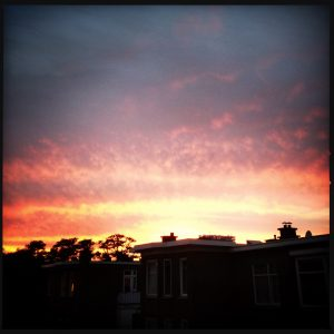 160927 zonsondergang