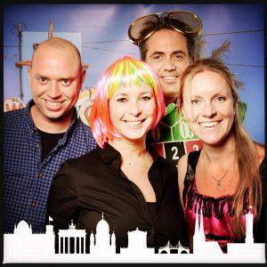 161109 met Ron, Edwin en Nicole